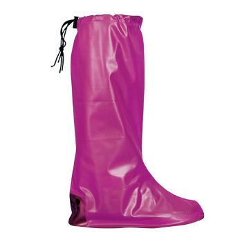 Pink Pocket Festival Wellies - M (UK 6-8)